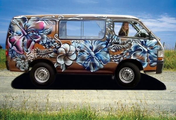 Our little van - Black Lava! Memories x