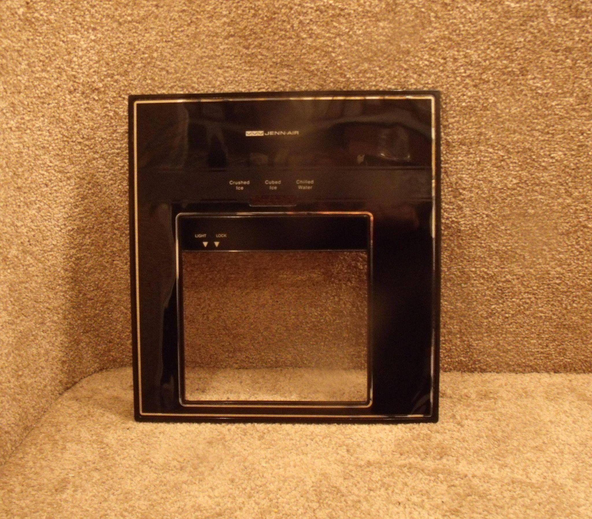 6990725 Jenn Air Refrigerator Black Dispenser Cover