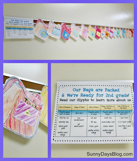 Sunny Days in Second Grade Open House in Pix  Freebies! School