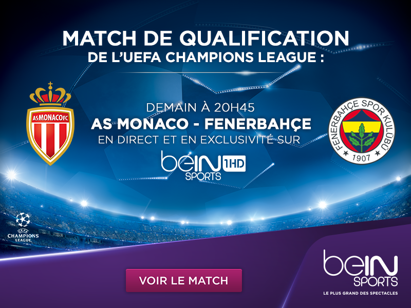 beIN SPORTS matchs en direct tv et live streaming As