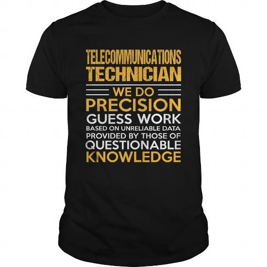 TELECOMMUNICATIONS TECHNICIAN T Shirts, Hoodies. Check price ==► https://www.sunfrog.com/LifeStyle/TELECOMMUNICATIONS-TECHNICIAN-114911405-Black-Guys.html?41382 $22.99