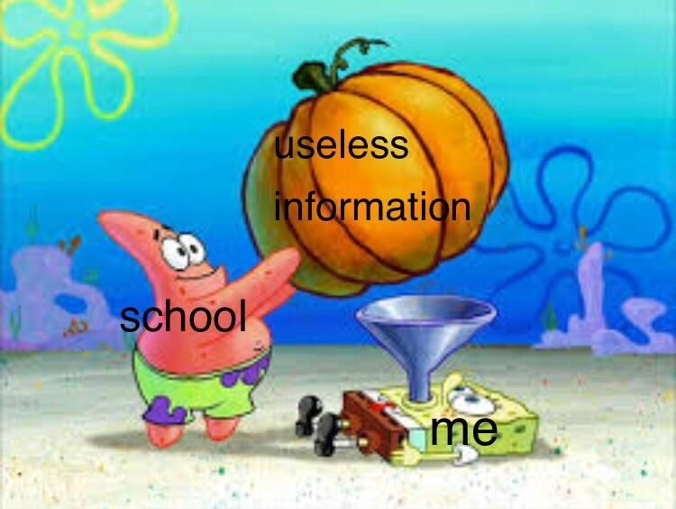 Mitochondria Is The Powerhouse Of The Cell Funny School Memes School Memes Funny Spongebob Memes