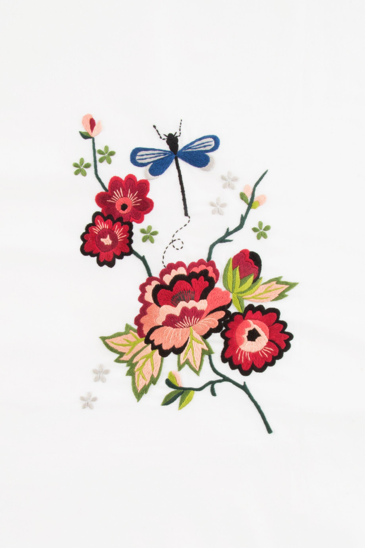 Hello japan peonía de otoño y libélula - diseño | Hilo y Aguja ...