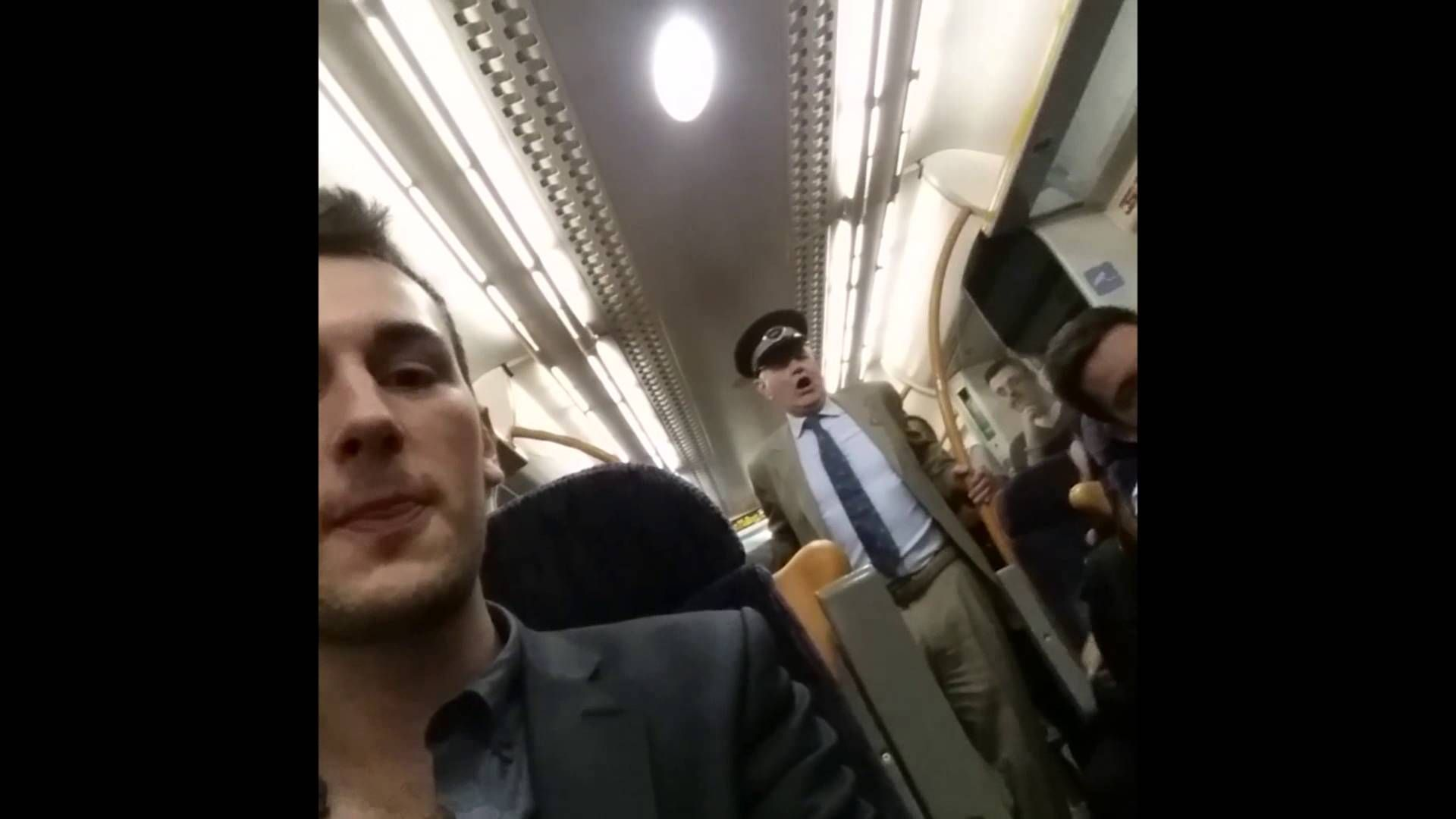 English Gent Gets Everyone On Train To Join In Drunken, Jolly Sing-A-Long (http://www.huffingtonpost.com/2014/06/04/drunk-pensioner-sing-a-long-train-england_n_5445102.html?utm_hp_ref=weird-news)