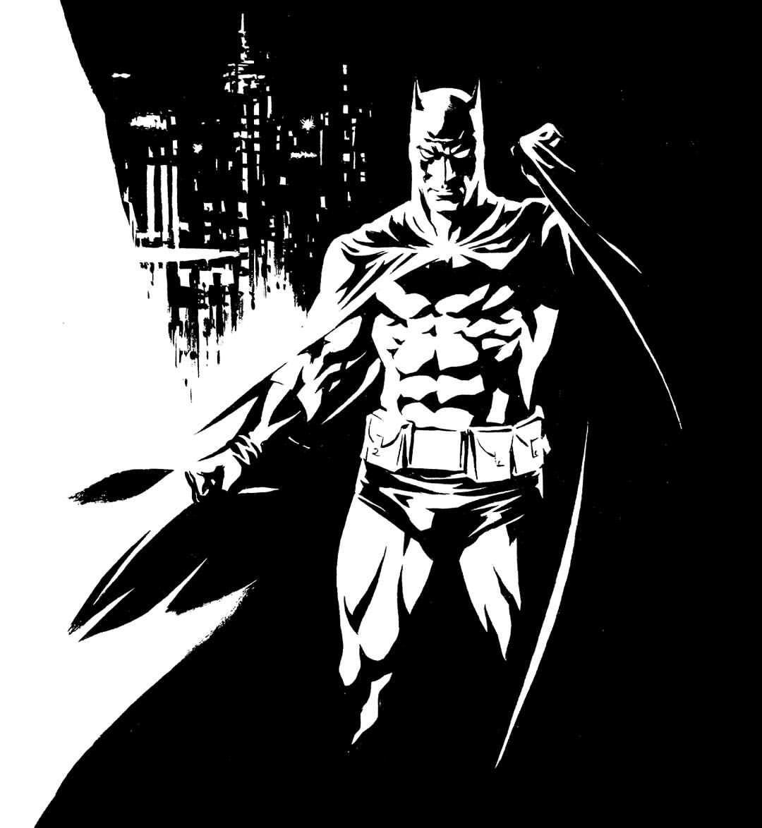 Grumpy Batman - Ron Salas