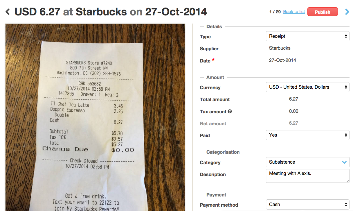 Receipt Scanning App For Android And Iphone Receipt Template Receipt Cool Things To Make
