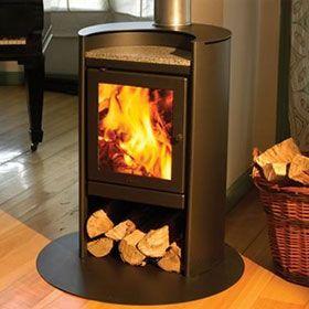 Modern And Functional Wood Stove Wood Fireplace Corner Wood Stove