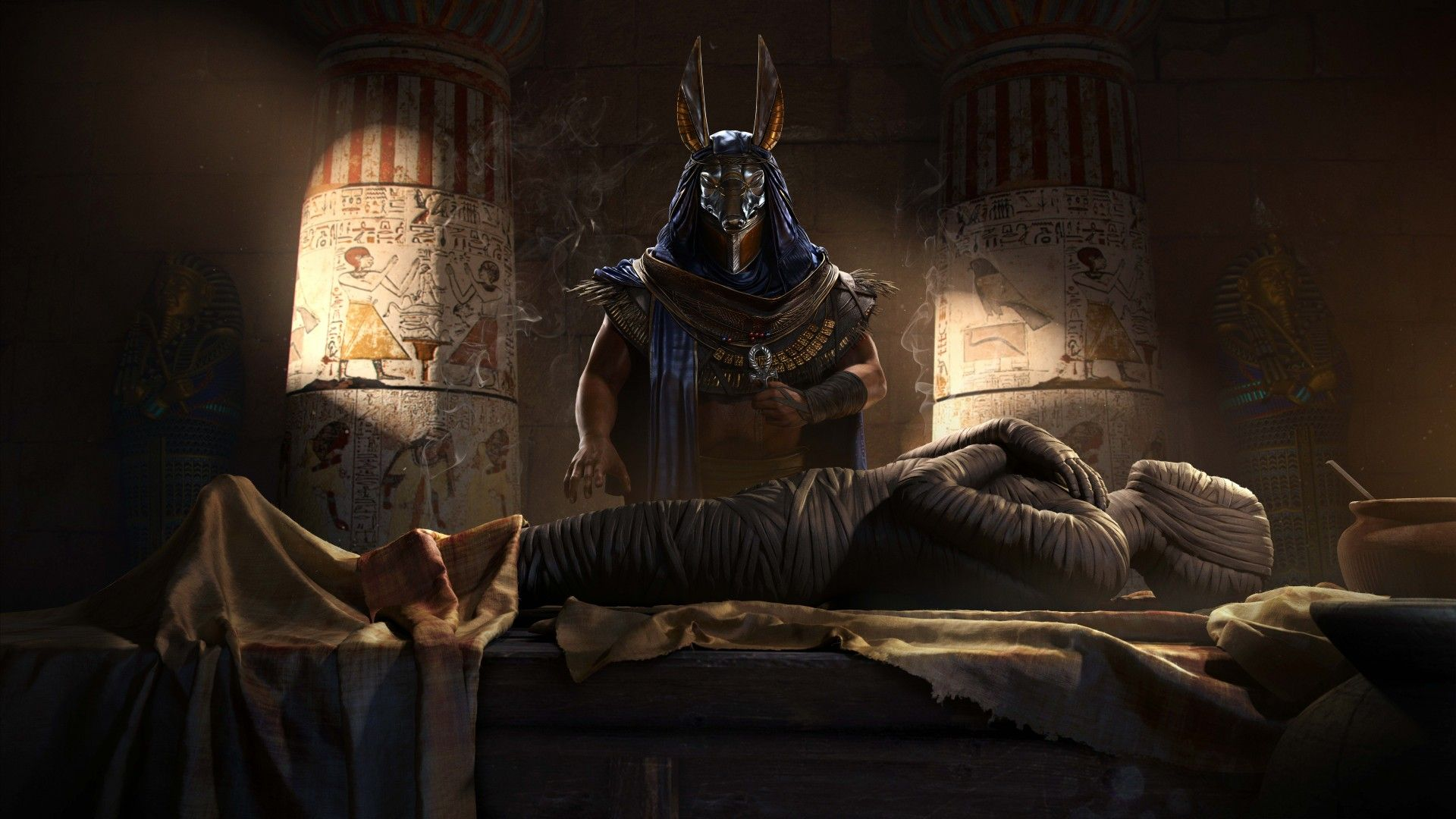 Download Wallpapers Of Assassins Creed Origins Mummy Egypt 4k