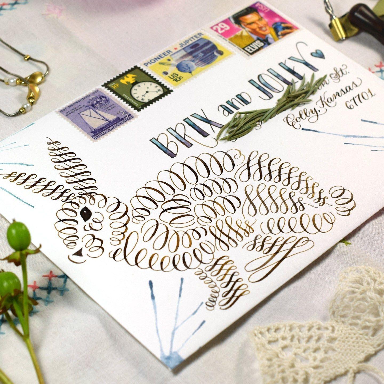 Free Printable Calligraphy Flourishing Worksheet