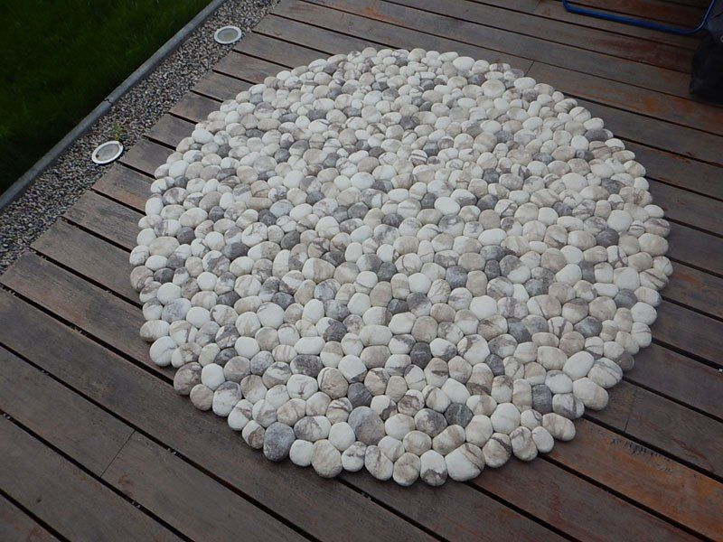 These Stone Rugs Are Actually Plush And Squishy Stone Rug Stone Redecorating