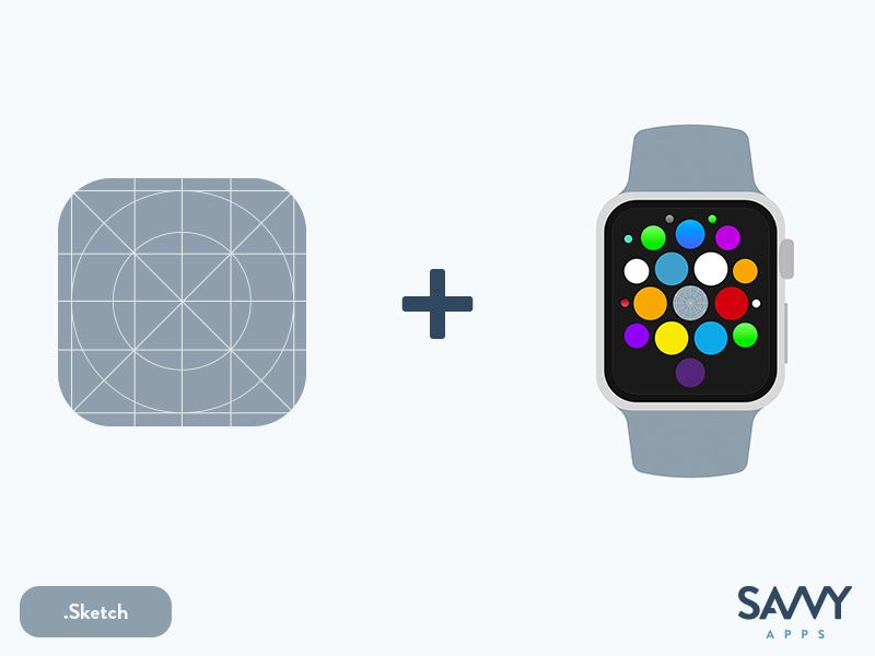 The Ultimate Sketch iOS App Icon Template Ios app icon
