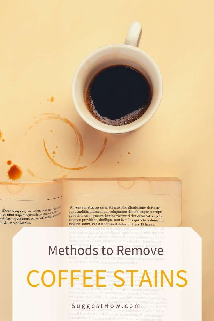 how to remove stains from coffee table