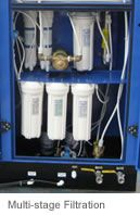 EcoloBlue RO Without Plumbing:  EcoloBlue™ is a state-of-the-art Atmospheric Water Generator (AWG) that produces purified drinking water from the humidity in the air.