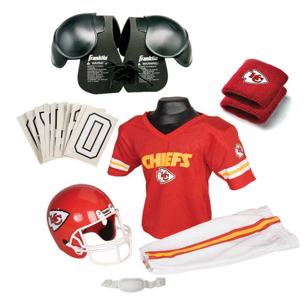 Kansas City Chiefs Youth NFL Ultimate Helmet and Uniform