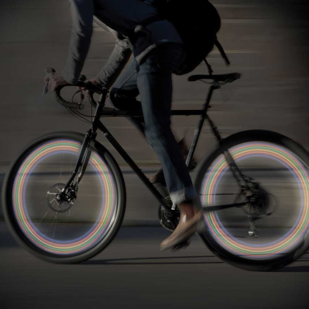 fietswiel led lampen set van 2