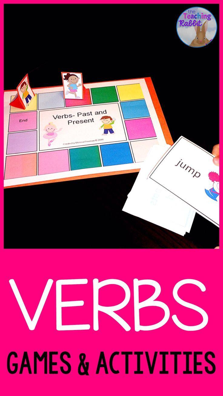 Verbs Activities Matching Games Worksheets And Activities