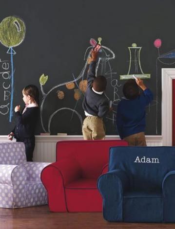 Playroom Chalkboard Wall Play Areas