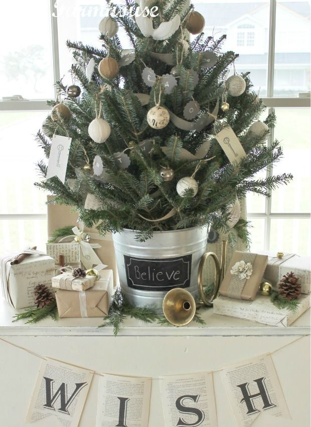 7 Tabletop Trees That Will Cheer Up Any Home White Christmas