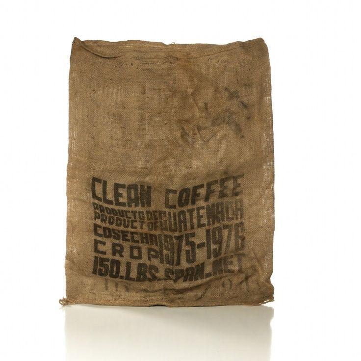 Old Burlap Bags Vintage Coffee Sack Bag 20 00