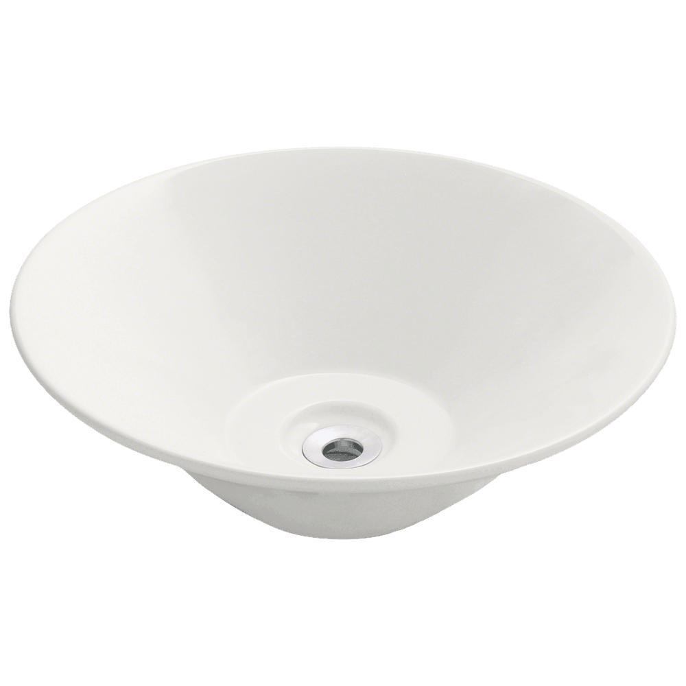 Mr Direct Porcelain Vessel Sink In Bisque Sink Vessel Sink