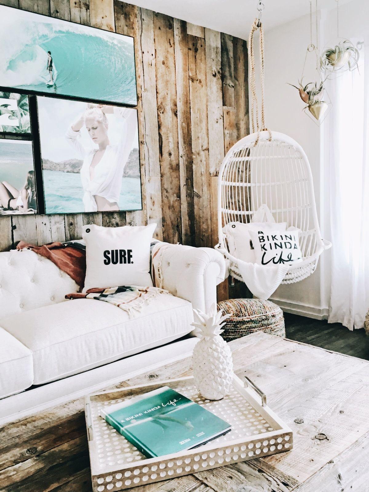 Beachy living room P I N T E R E S T : @pollnow2002 in 2019 ...