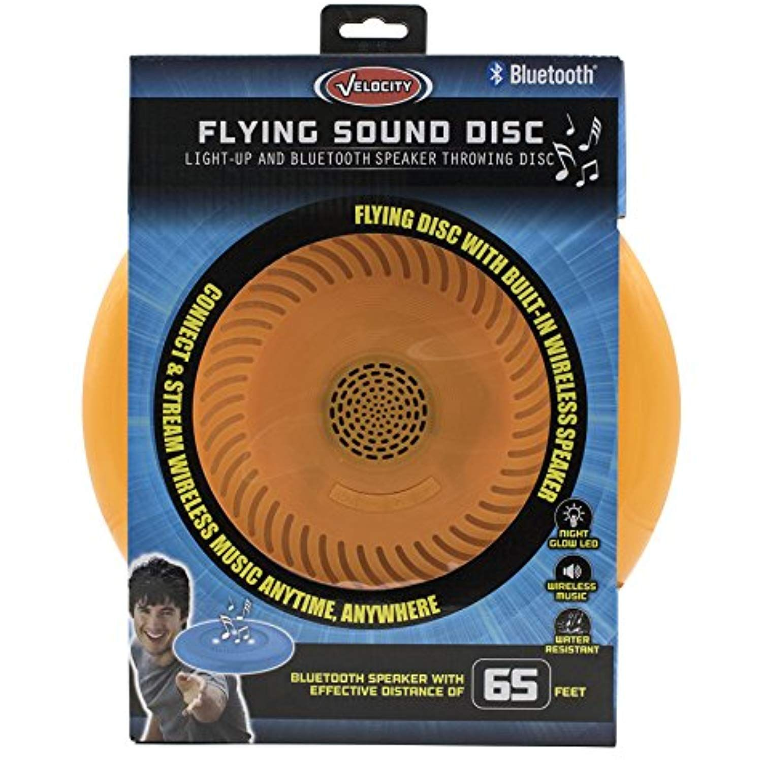 Flying Sound Disc - Light-Up and Bluetooth Speaker ...