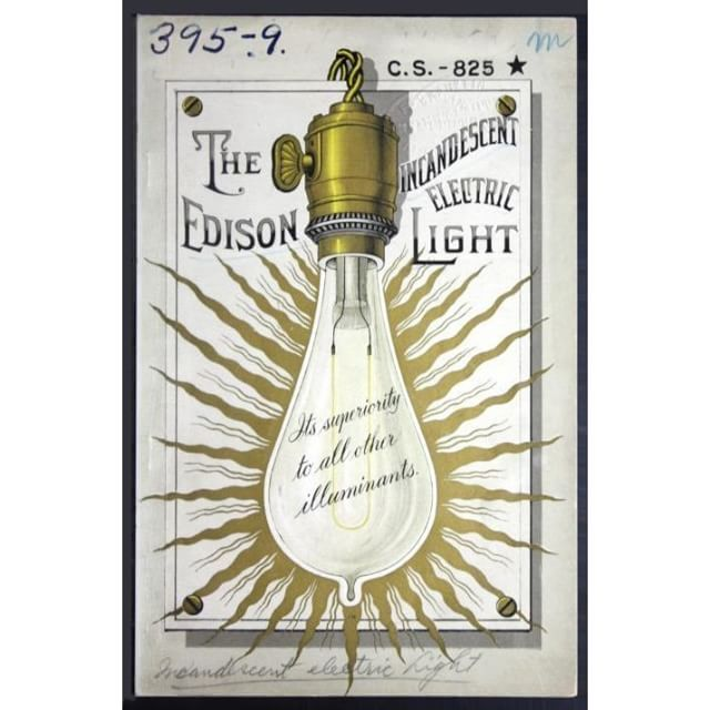 Tbt In 1882 The Edison Electric Lighting Company Bulletin Spreads