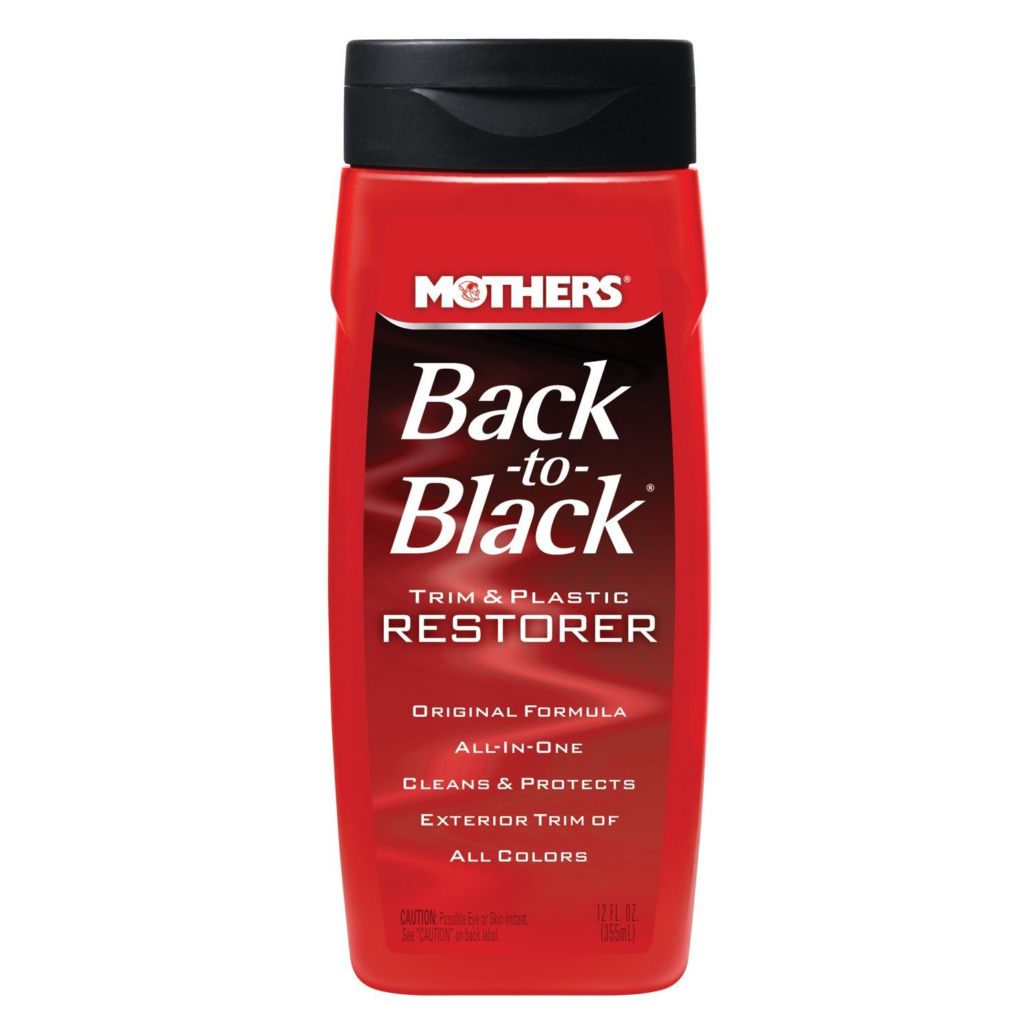 Mothers 06112 12 Oz Back To Black Car Care Cleaning Camionetas