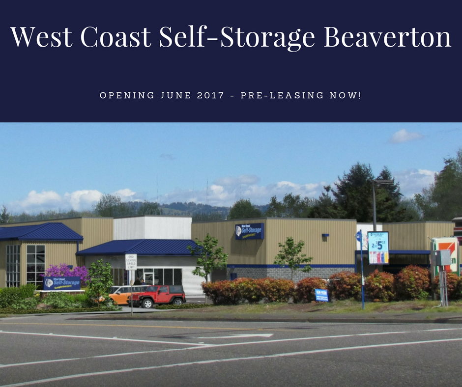 West Coast Self Storage Beaverton 9540 Sw 125th Ave Beaverton Or 97008 Beaverton Storage Units Self Storage Storage Unit The Unit