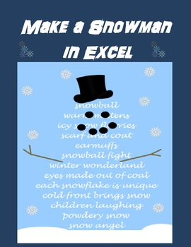 excel activities for college students