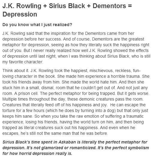 Depression Hp Whatssayings Describes Pinterest Harry