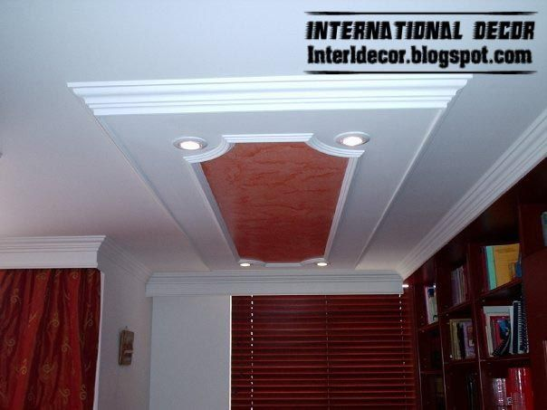 New Classic And Calm Designs Of Gypsum Board Plaster Roof In Spanish Designs Gypsum Board Plaster Roof In Classic And Cal Spanish Design Design Gypsum Board