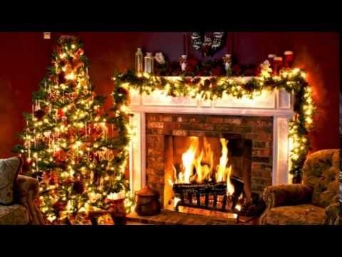 Christmas Fireplace set to Old Time Radio Christmas Music ...