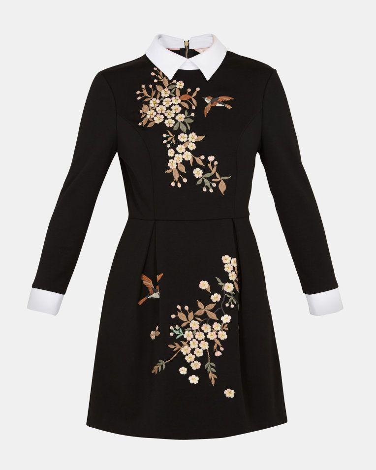 ff60ed17508 Ted Baker ELLAN Graceful collared dress in 2019