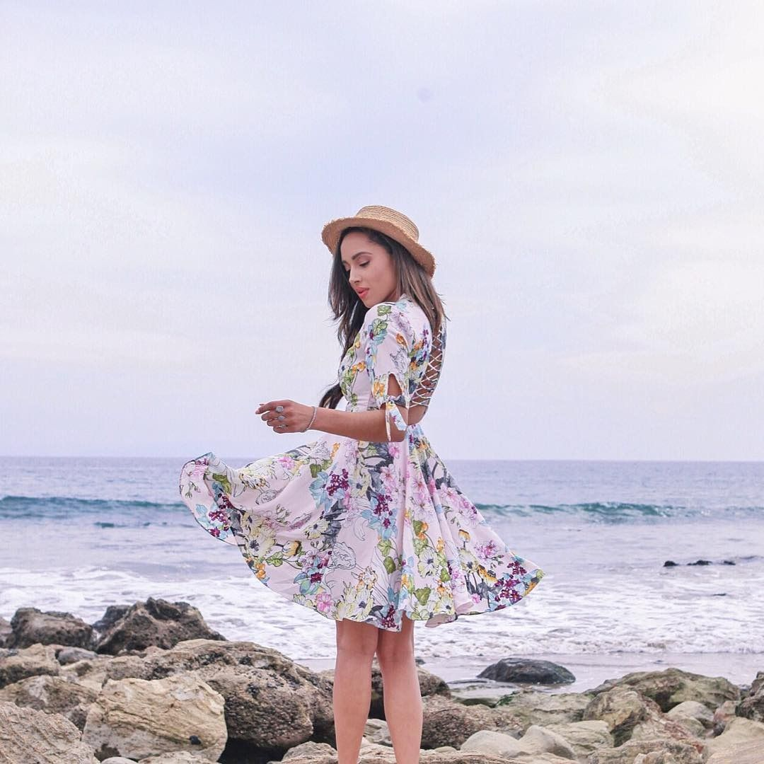 The perfect dress for a little weekend twirling.