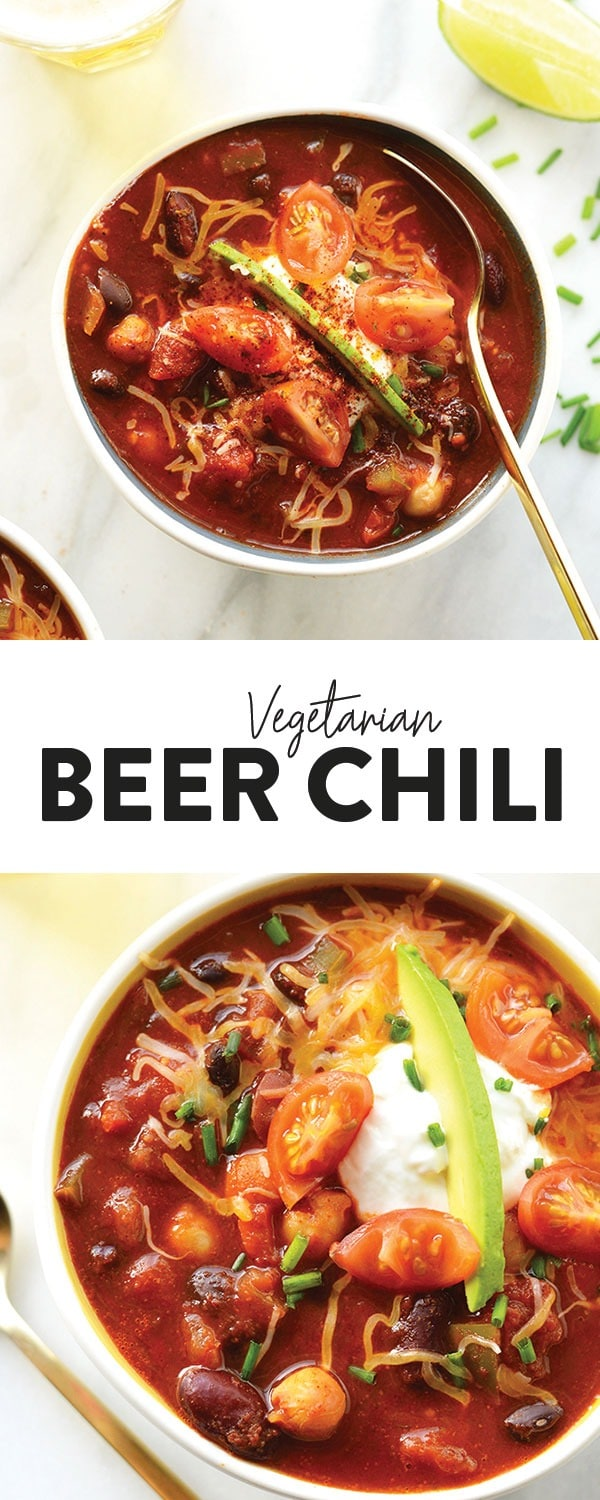 Beer Chili A Match Made In Heaven Spice Up Classic Chili And Add A Bottle Of Your Favorite Brew To Vegetarian Recipes Healthy Best Chili Recipe Beer Chili