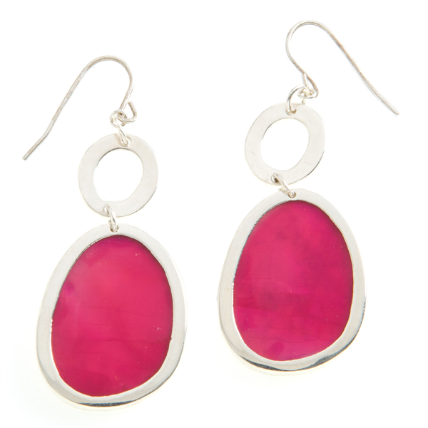 Laguna-Pink Drop Earrings $25.  Delicate and classic - you can't go wrong with Laguna pink drop earrings