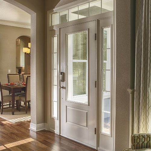 Therma Tru Smooth Star 3 4 Lite 2 Panel Door Is A Gorgeous