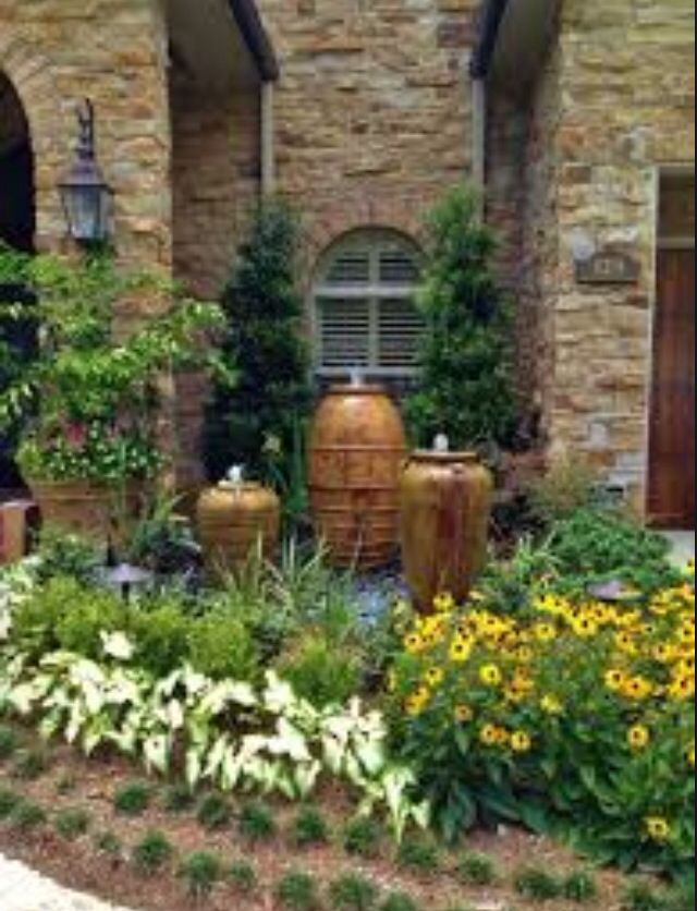Tuscan Landscape | Mice S home | Pinterest on garden with sculptures, garden with arches, garden with birdbath, garden with pots, garden with potted plants,