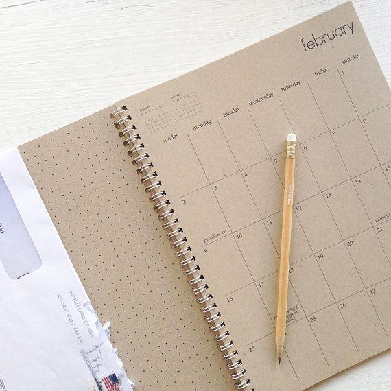 2014 Weekly Planner Por Lettercdesign En Etsy