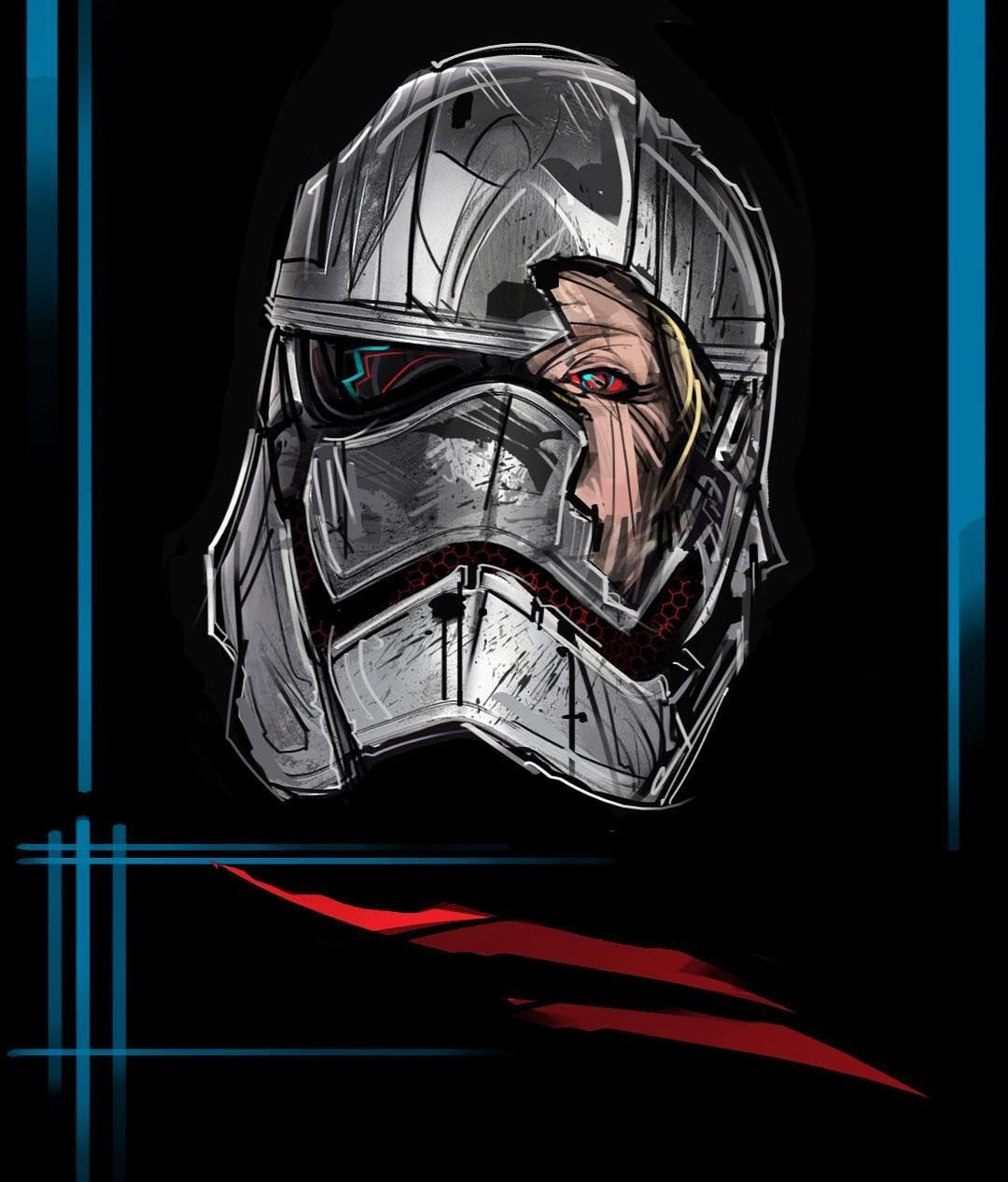 Captain Phasma Star Wars Star Wars Canon Star Wars Fandom Star Wars Trooper