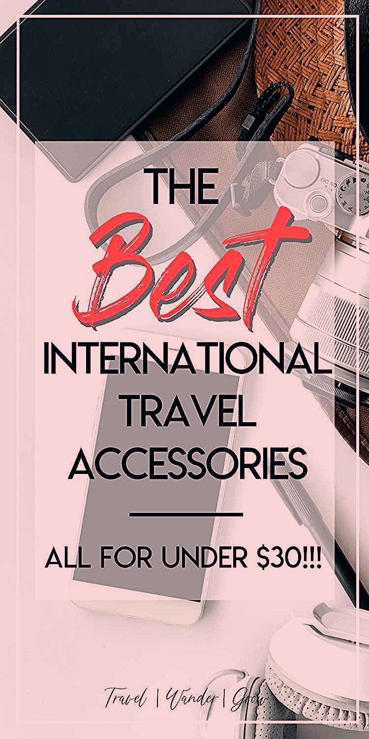 Photo of The 31 Best International Travel Accessories