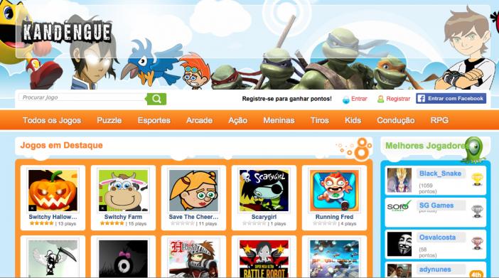 Angolanos Lancam Site De Jogos Online Gratis Kandengue Com Jogos Online Site Jogos Jogos