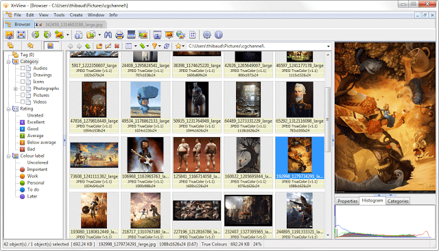 Excel Facil Ideas And Solutions Xnview Editor De Imagens Free Download Imagens Free Software Windows