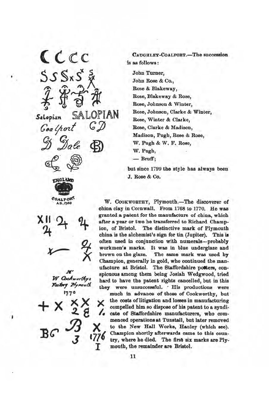 Book Of Pottery Marks