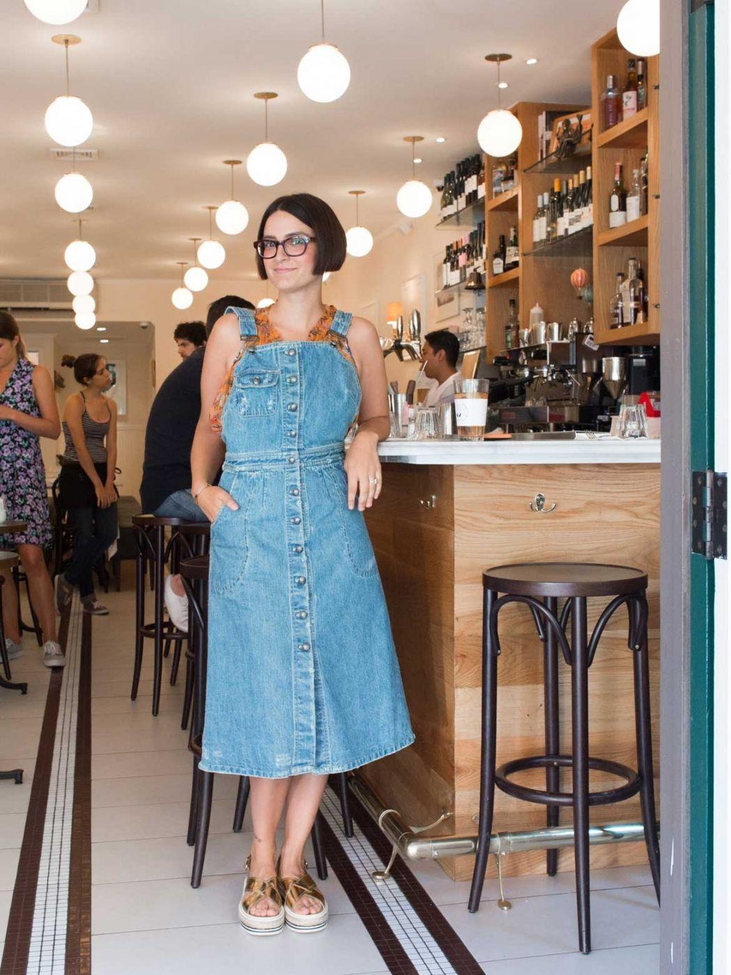Maya Janklowitz At The Carmine Street Location Of Her Restaurant Jack S Wife Freda In