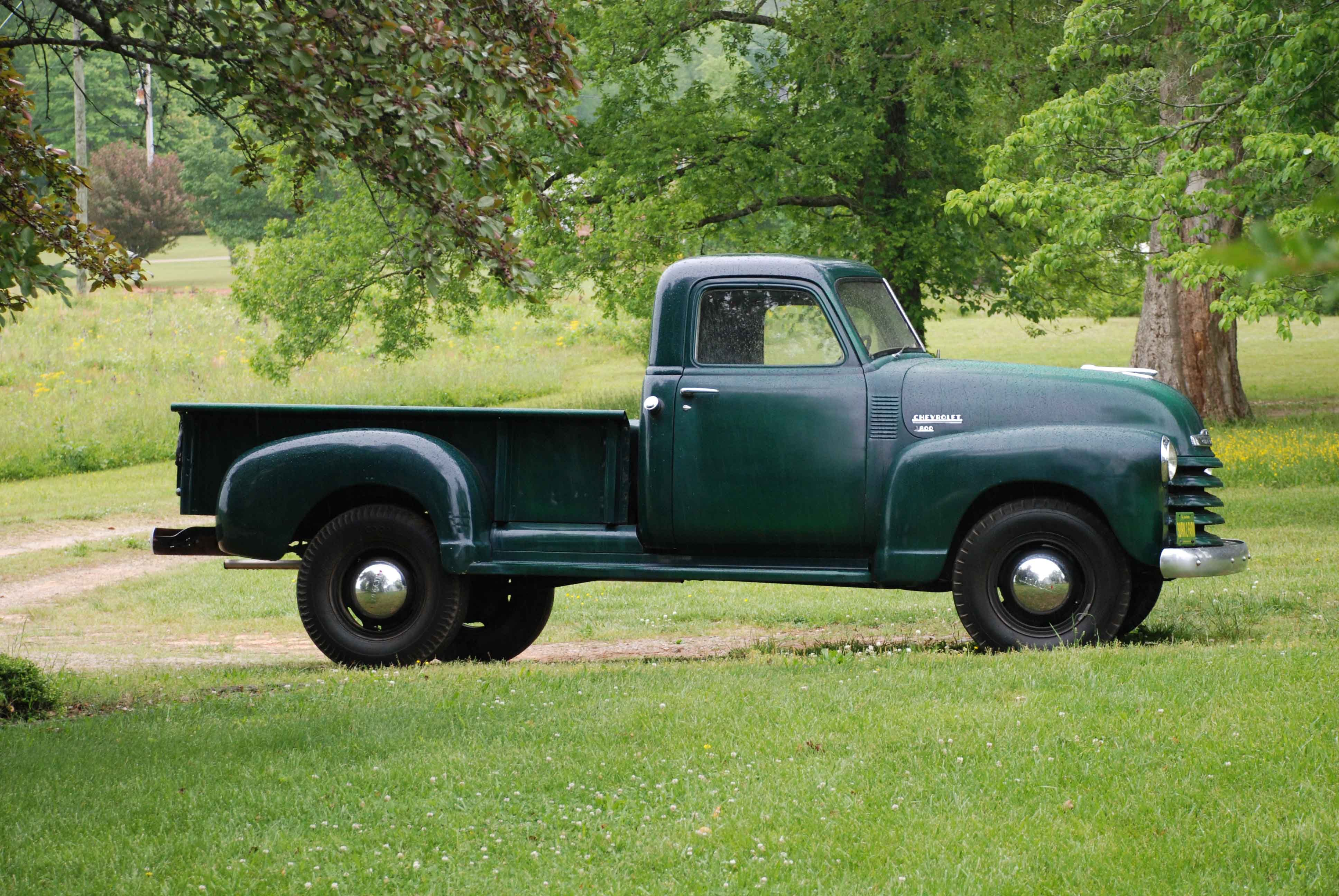 1951 Chevy | Pickups on parade | Pinterest | Chevrolet, 54 chevy ...
