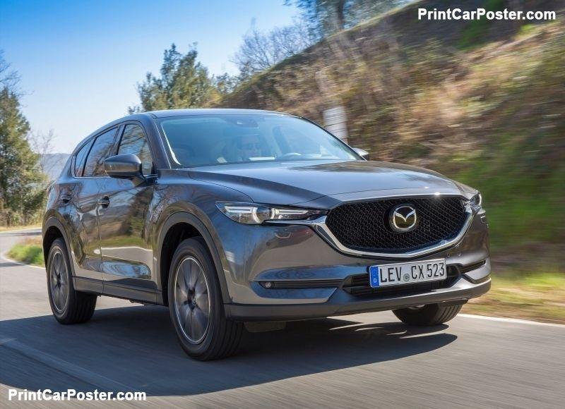 Mazda CX-5 [EU] 2017 poster | Mazda and Mazda cx5