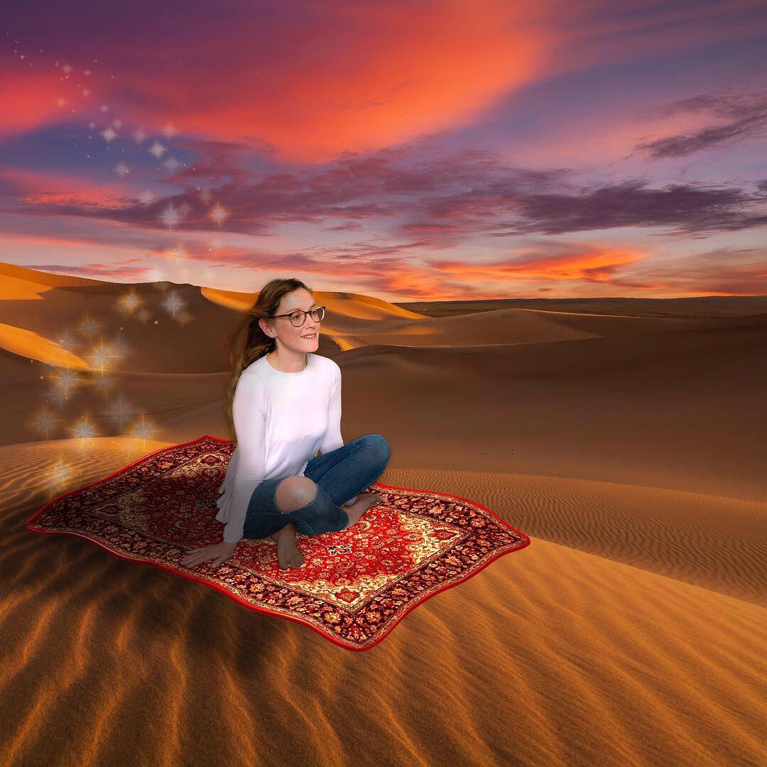 Aladdin - flying carpet - fairy tale - Photoshop edit | Fairytale