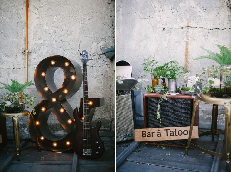 Des idées Rock'n roll pour votre mariage. | Jess Wed | Pinterest